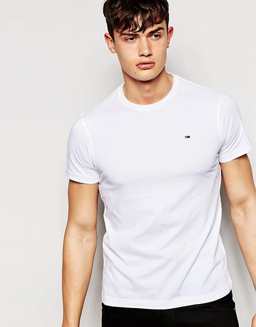 Tommy Hilfiger Denim T-shirt with Crew Neck