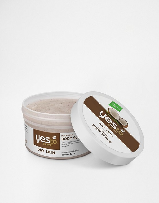 Yes To Coconut Polishing Body Scrub 280g