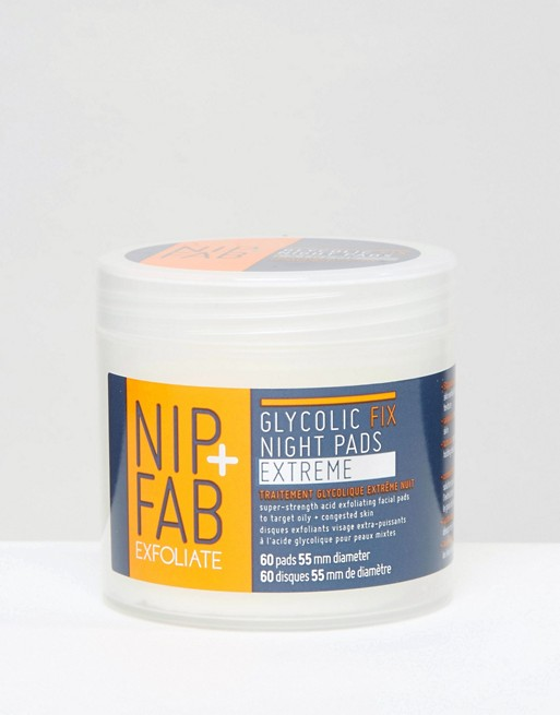 NIP+FAB Glycolic Fix X-treme Pads 80ml