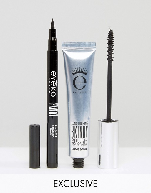 Eyeko ASOS Exclusive Skinny Mascara & Liquid Eyeliner Duo SAVE 33%