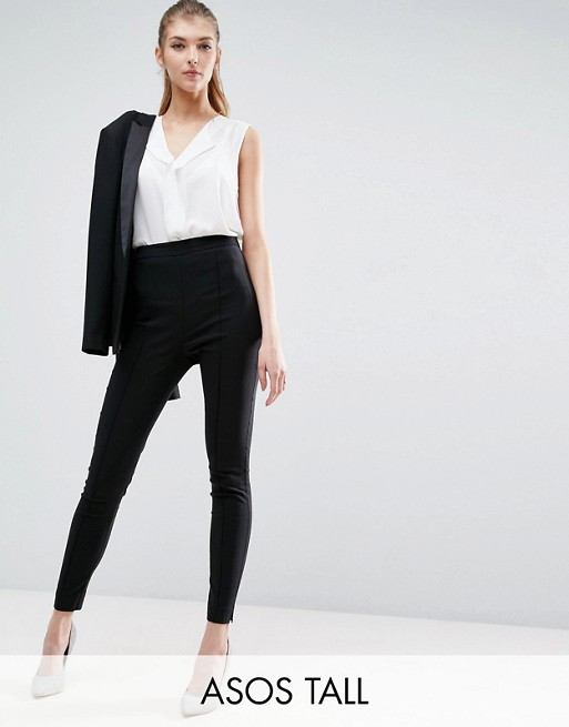 ASOS TALL Skinny Crop Pants in Bengaline