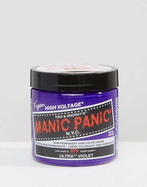 Manic Panic NYC Classic Semi Permanent Hair Color Cream - Ultra Violet