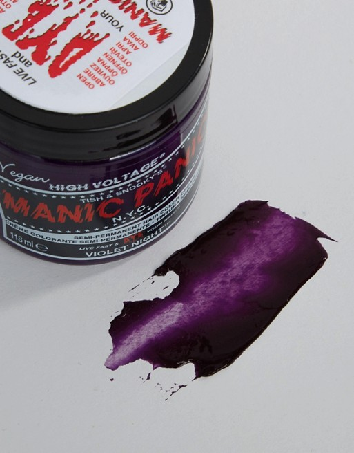 Manic Panic NYC Classic Semi Permanent Hair Color Cream - Violet Night
