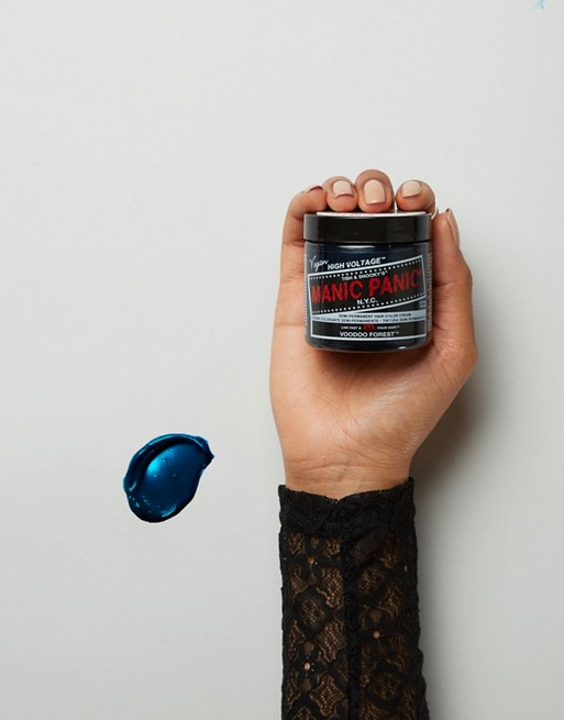 Manic Panic NYC Classic Semi Permanent Hair Color Cream - Voodoo Blue