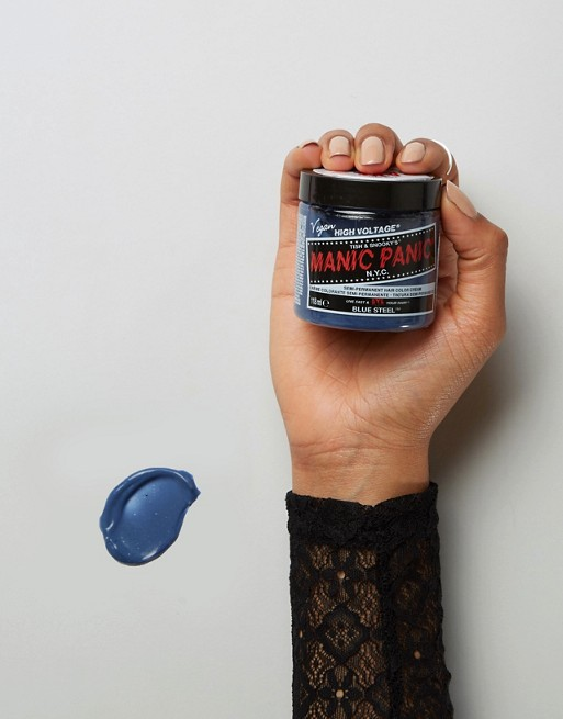 Manic Panic NYC Classic Semi Permanent Hair Color Cream - Blue Steel