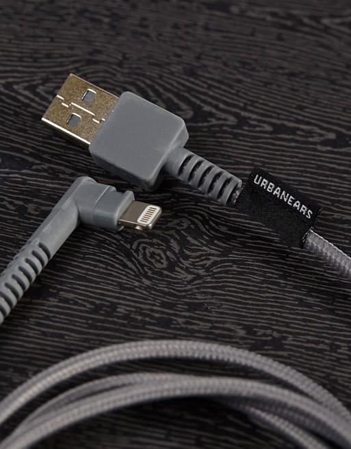 Urbanears Thunderous iPhone USB Cable In Gray
