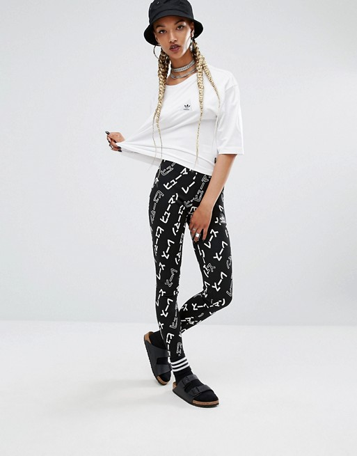 adidas Originals X Pharrell Williams Graphic Print Leggings