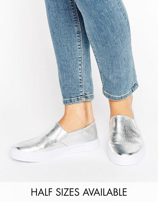 ASOS DAHLIA Slip On Sneakers