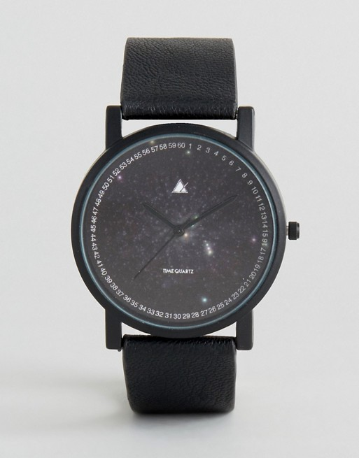 ASOS Watch With Cosmic Print Face