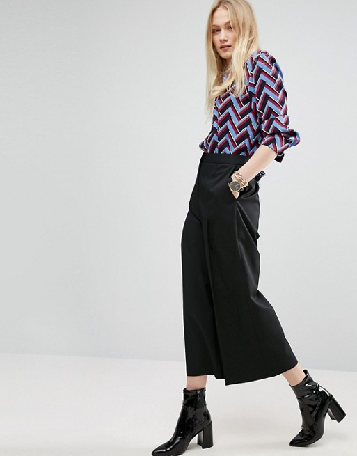 ASOS Smart Wide Crop Pants
