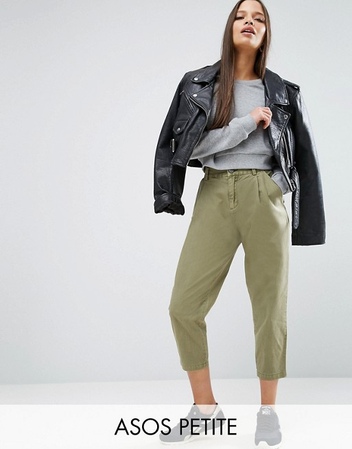 ASOS PETITE Washed Ultimate Peg Pants