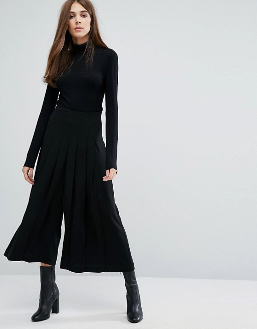 Warehouse Pleated Culottes