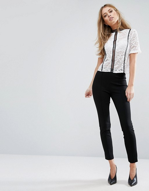 Warehouse Ponte Flared Pant