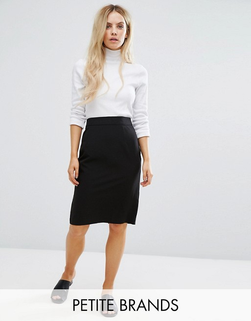 New Look Petite Tailored Pencil Skirt