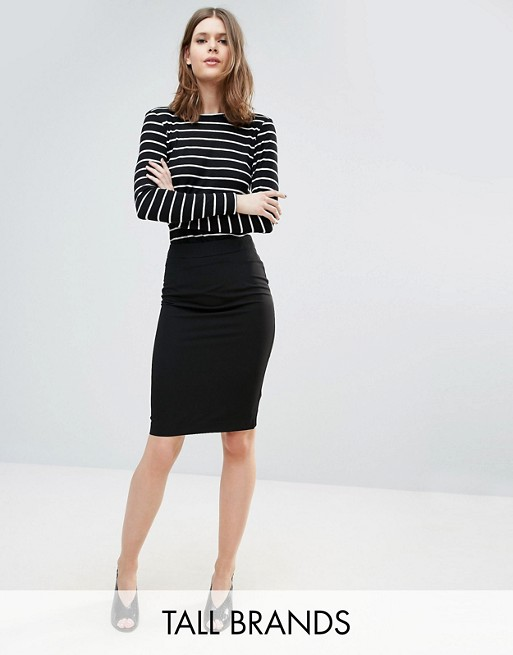 New Look Tall Tailored Pencil Skirt