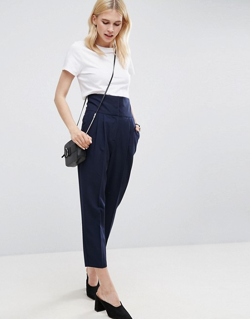 ASOS Super Highwaist Tapered Pants