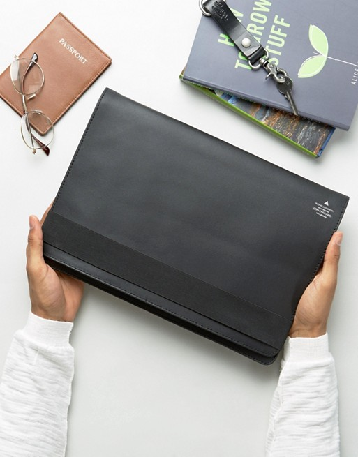 ASOS Smart Leather 13 Macbook Case With Foil Emboss