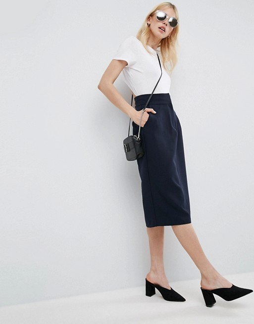 ASOS Pencil Skirt with Pockets