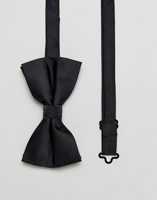 ASOS Bow Tie In Black