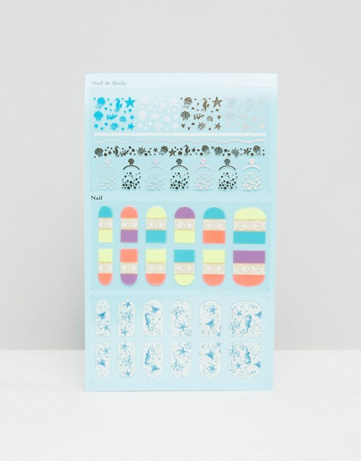 Anna Sui Limited Edition Nail & Body Stickers