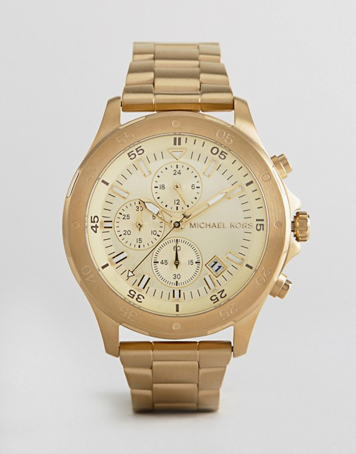 Michael Kors MK8570 Walsh Bracelet In Gold 44mm