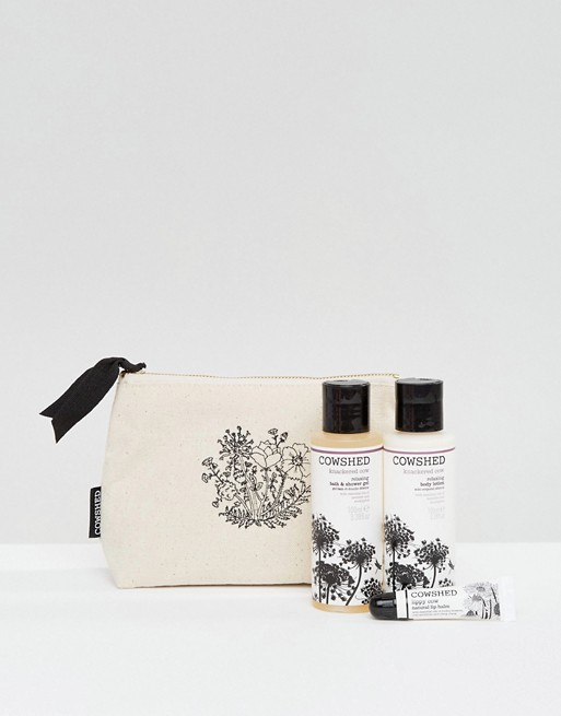 Cowshed Knackered Cow Relaxing Essentials Gift Set